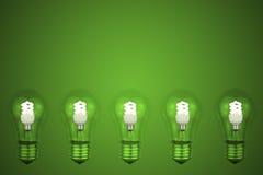 60-Watt-Glühlampe Lizenzfreies Stockfoto