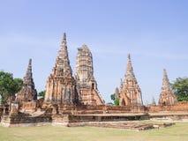 Wattanaram de Wat Chai Photos libres de droits