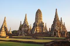 wattanaram för ayuthayachai thailand wat Royaltyfri Foto