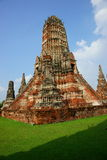 wattanaram för ayutthayachai thailand wat Royaltyfria Bilder