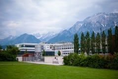 Wattens的Swarovski工厂 库存图片