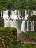 Watterfalls de Iguazu Imágenes de archivo libres de regalías