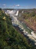 Watterfalls in Foz do Iguassu Argentina Brazil Royalty Free Stock Image