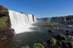 Watterfalls in Foz do Iguassu Brazil Stock Image