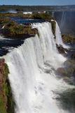 Watterfalls in Foz do Iguassu Brazil Royalty Free Stock Photo
