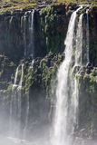 Watterfalls in Foz do Iguassu Brazil Stock Photos