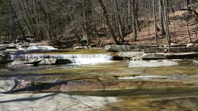 Watterfalls i woda Obrazy Stock