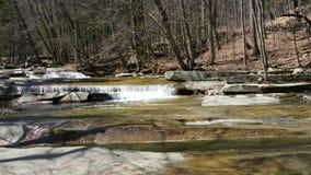 Watterfalls och vatten Arkivbilder