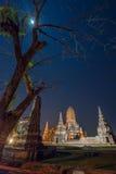 Watthanaram Ayutthaya Tailandia di Wat chai Immagini Stock