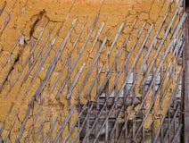 Wattle και επιχρισμάτων σύσταση Στοκ φωτογραφία με δικαίωμα ελεύθερης χρήσης