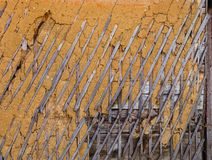 Wattle and daub texture Royalty Free Stock Photo