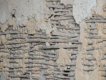 Wattle and daub. Wall in France Stock Images