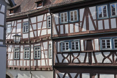 Wattle facades, bad wimpfen Stock Photo