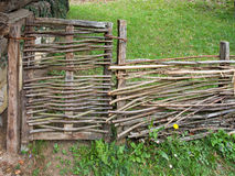 Wattle Fence Stock Images