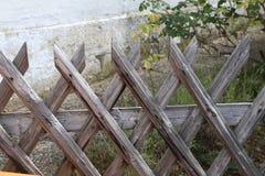 Wattle fence in Garden. Garden wooden fence. Wattle fence in Garden. Garden wooden fence royalty free stock photos