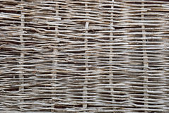 Wattle Fence Of Dry Twigs Royalty Free Stock Images