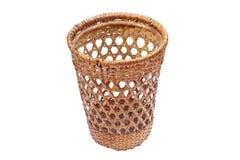 Wattle handmade traditional basket Royalty Free Stock Photography