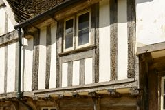 Wattle house detail , Lacock Stock Photography
