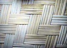 Wattled竹子席子。 库存照片