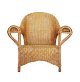 Wattled Armchair on white Stock Images