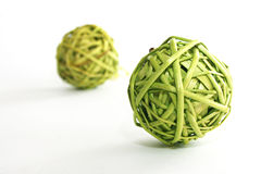 Wattled ball. Design style interior object goods decor Stock Images