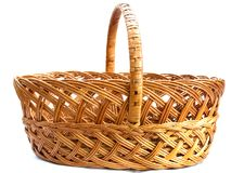 Wattled basket Royalty Free Stock Photos