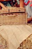 Wattled basket Stock Image