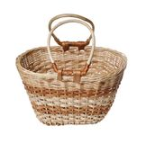 Wattled basket Royalty Free Stock Images