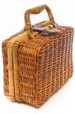 wattled mała walizka obraz stock
