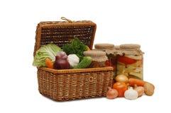 wattled nya förtennade grönsaker för ask Royaltyfria Foton
