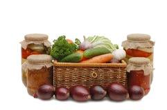 wattled nya förtennade grönsaker för ask Royaltyfri Fotografi