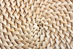 Wattled straw background Stock Photography