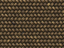 Wattled texture. handmade wicker pattern Royalty Free Stock Photos