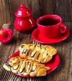 Wattledbroodjes met papaver Stock Foto