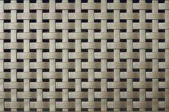 Wattledtextuur voor een bruine abstracte achtergrond Stock Foto