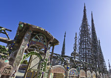 Watts Towers royalty free stock photos