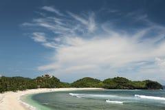 Пляж Watu Karung, Pacitan, Ява, Индонезия Стоковые Изображения RF