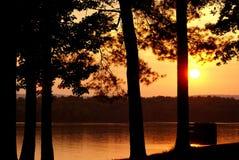 Waty Zakazują jezioro Obrazy Stock