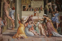Watykańscy muzea zdjęcia royalty free
