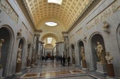 Watykańscy muzea, atrakcja turystyczna, arkada, łuk, historyczny miejsce Obrazy Stock