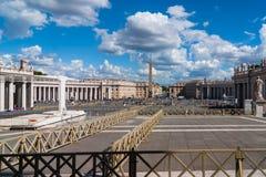 Watykański główny plac Zdjęcia Royalty Free