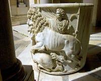 Watykański Italy Rome rzeźby muzeum Obraz Royalty Free