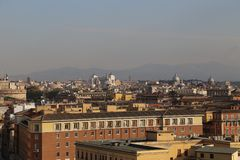 Watykański kraj w środku Rzym Włochy Fotografia Stock