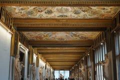 Watykański muzeum ` niebo zdjęcia royalty free