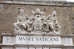 Watykański muzeum w Rzym Włochy obraz stock