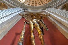 Watykański muzeum - watykan obrazy stock