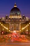 Watykański pośpiech Obraz Royalty Free