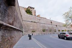 Watykańskie ściany. fotografia royalty free