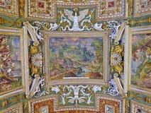 Watykański obrazu sufit Zdjęcie Stock