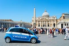 Watykański samochód policyjny Obraz Royalty Free